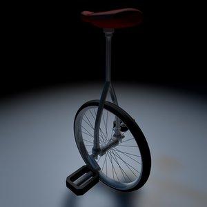 3d unicycle wheel