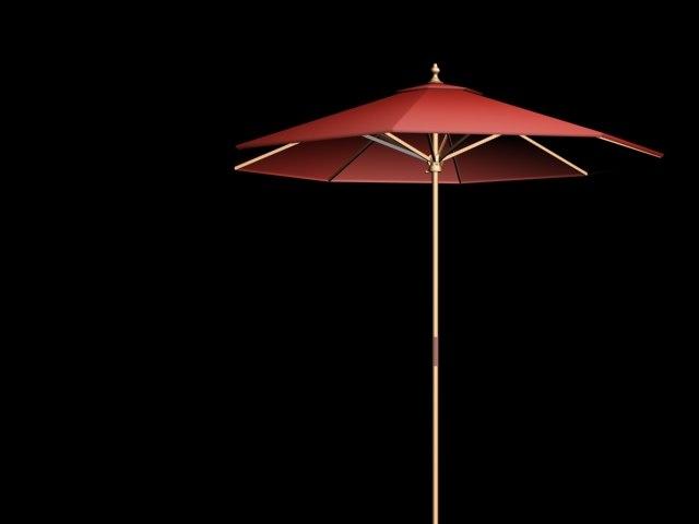 3d canvas umbrella