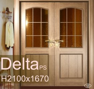 3d interior doors model