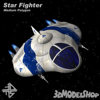 3d 3ds star fighter