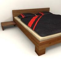 3d model bed design