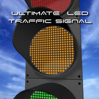led traffic lights 3d 3ds