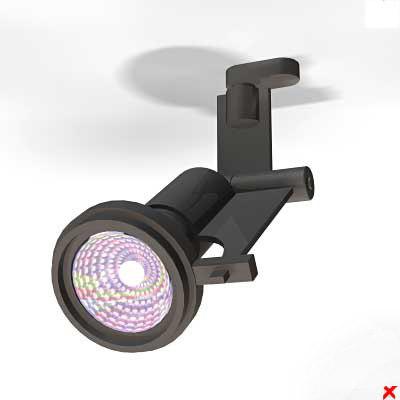 lamp adjustable 3d max
