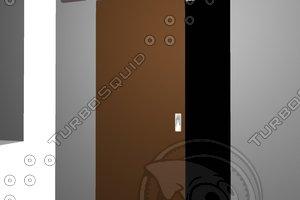3d door wbs70 schiebetür model