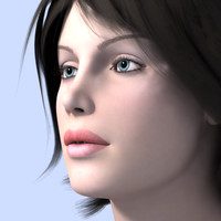 woman sindy 3d model