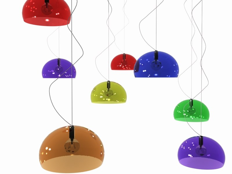 icon ceiling lights lamp 3d 3ds
