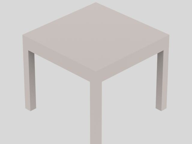 3dsmax table wood