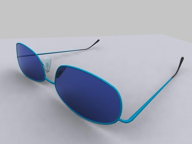 realistic sunglasses 3d max