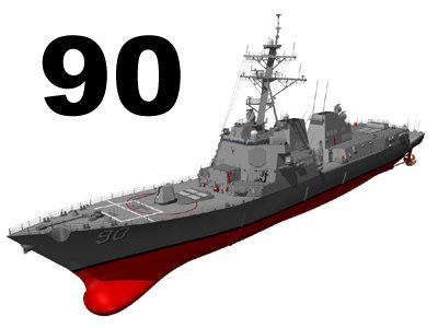 3d ddg 90 model