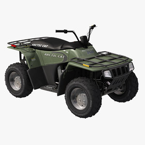 arctic quad bike atv obj