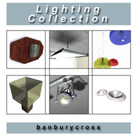 lighting downlighters lamp 3d max