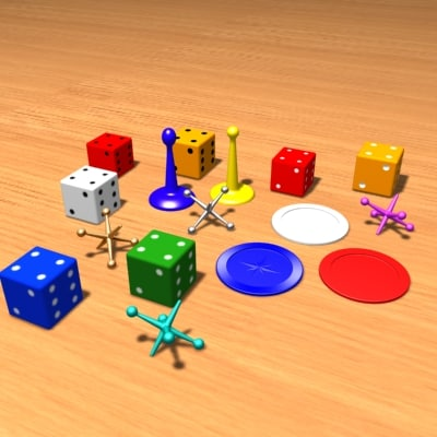pieces dice 3ds
