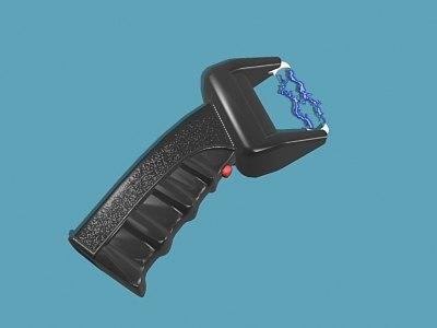 electroshocker impulse 3d model