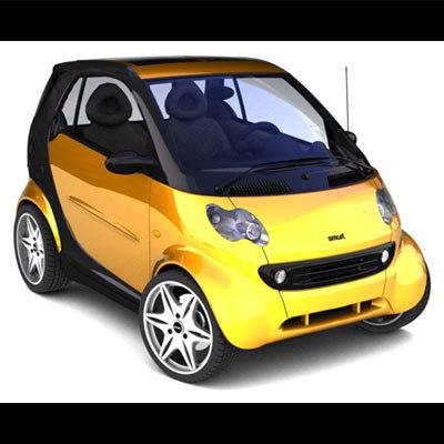 3d model smart passion 2005