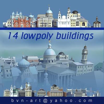 max 14 buildings