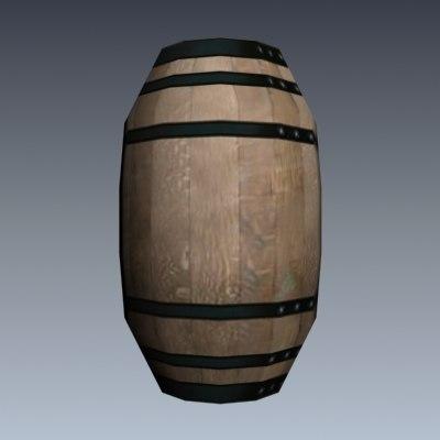 3ds max simple barrel