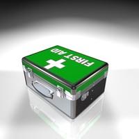 3d model 1st aid