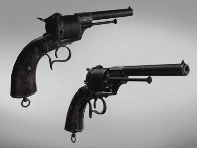 lefaucheux civil war gun max