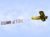 help wanted biplane banner.blend