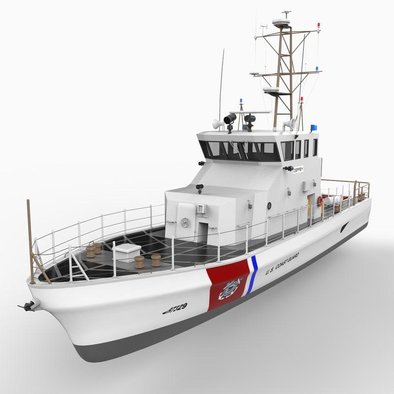 3d model u s coast guard