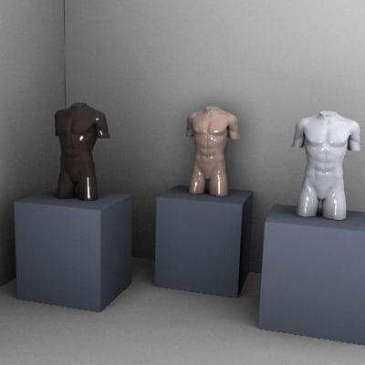 mannequin stand 3d model