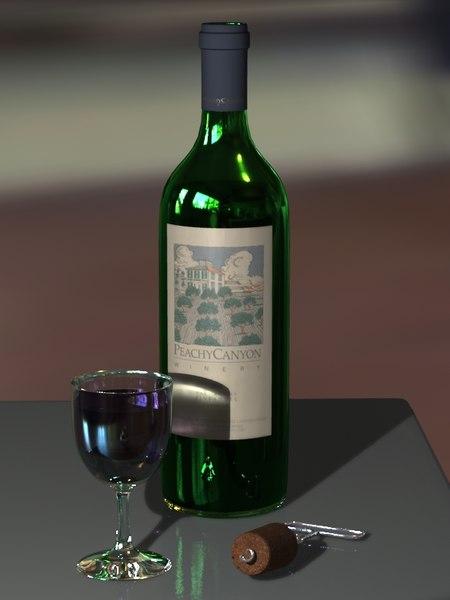 Free Wine 3D Models for Download | TurboSquid
