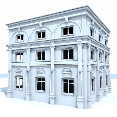 maya building facade