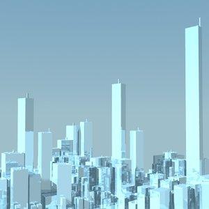 3d city model