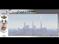 3d bryce city model
