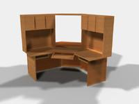 Corner Computer Desk  (LP)