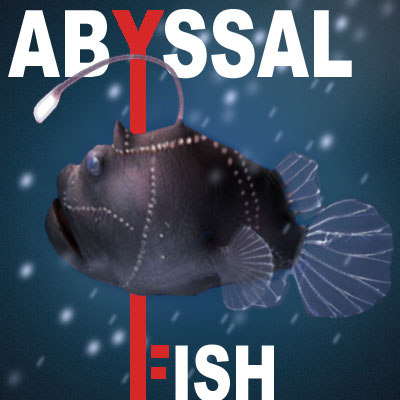 triplewart seadevil fish 3d model