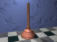 plunger 3d max