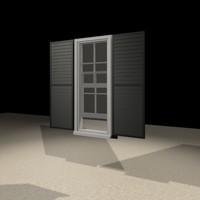 1846 window 3d model