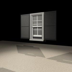 1832 window 3d max