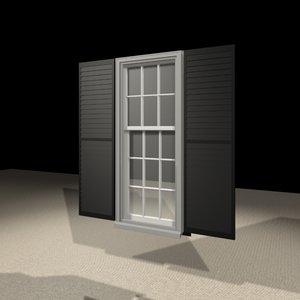 3d model 2056 window