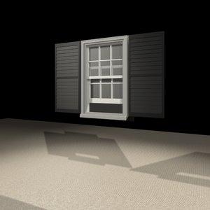 2032 window 3d max