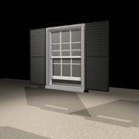 2842 window 3d max