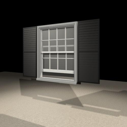 3442 window 3d model