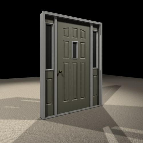 maya entry door