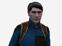 3ds max human male