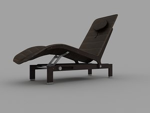giorgetti lo lounge chair 3d model