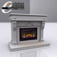 Fireplace - Precast Unit