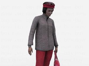 female human 3d model