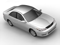 3d toyota camry 2005