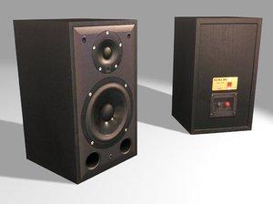 dali blue 2002 speakers 3ds