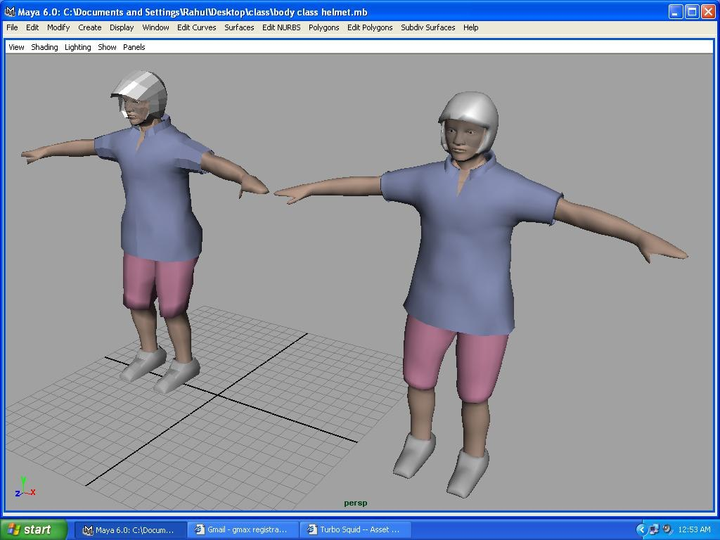 3d ma funky character