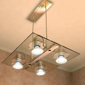 modern ceiling lamp 3d max