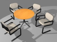 Table And Chairs (3DS)