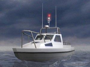 fishing vessel 3d 3ds