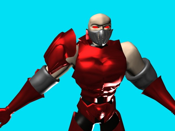 3d model barbarian forgemaster